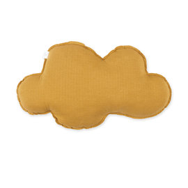 Coussin Tetra Jersey 30cm CLOUD Ocre