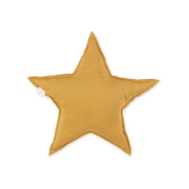 Coussin décoratif Tetra Jersey 30cm STARY Ocre