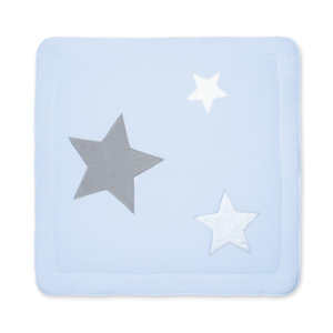 Padded play mat Softy 100x100cm STARY Frost