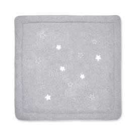 Playpen mat Pady terry + terry 100x100cm STARY Grey marled