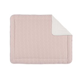 Padded play mat Quilted 75x95cm OSAKA Blush