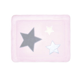 Padded play mat Softy 75x95cm STARY Baby pink