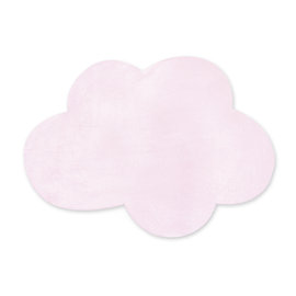 Deco playmat Softy 85x110cm CLOUD Baby pink