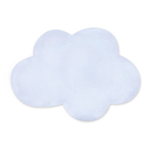Deco Playmat Softy 85x110cm CLOUD Frost