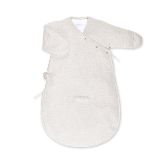 Magic Bag® Pady quilted jersey 0-3m BEMINI Beige clair chiné