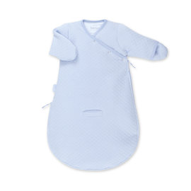 MAGIC BAG Pady quilted jersey 0-3m BEMINI Lichtblauw