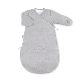 Magic Bag® Pady quilted jersey 0-3m BEMINI Gris chiné