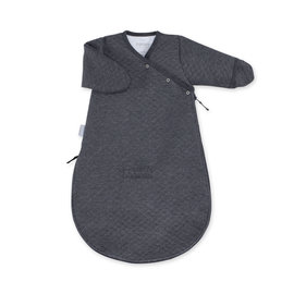 Magic Bag® Pady quilted jersey 0-3m BEMINI Charcoal grey marled