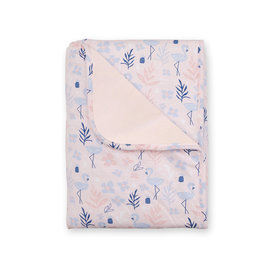 Couverture Jersey 75x100cm ALOHA Flamant rose