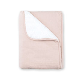 Couverture Teddy 75x100cm CADUM Blush