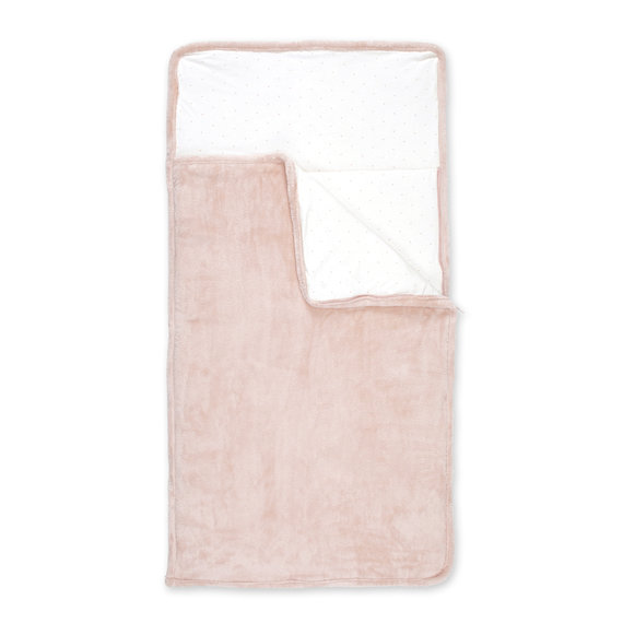 Camping Bag Pady softy + jersey 70x140cm CHOUX Vieux rose