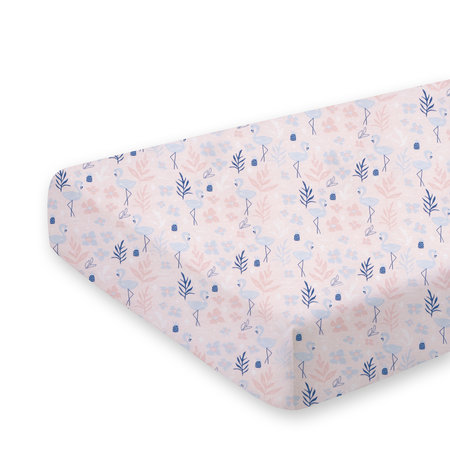 Crib sheet  100% cotton 40x90cm ALOHA Dolly