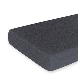 Bed sheet Jersey 60x120cm  Charcoal grey marled