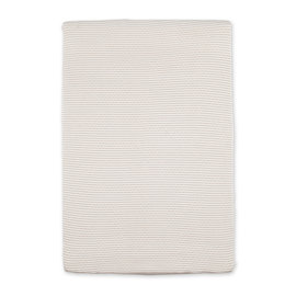 Changing mat cover Twin jersey 60x85cm DUNES Stripe ecru natural
