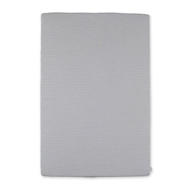 Changing mat cover Twin jersey 60x85cm DUNES Stripe grey ecru