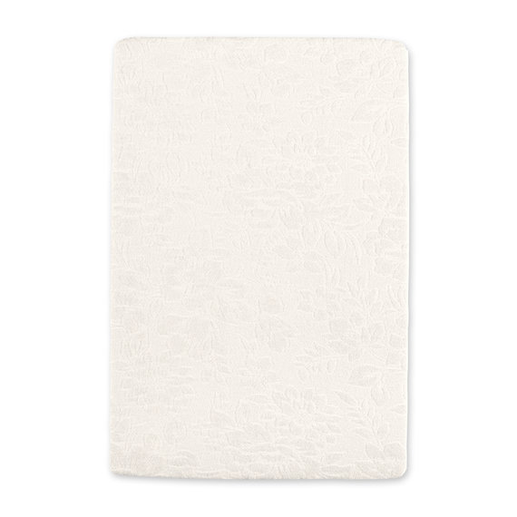 Changing mat cover Terry 60x85cm IDYLE Egg shell