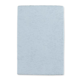 Changing mat cover Terry 60x85cm IDYLE Blue grey