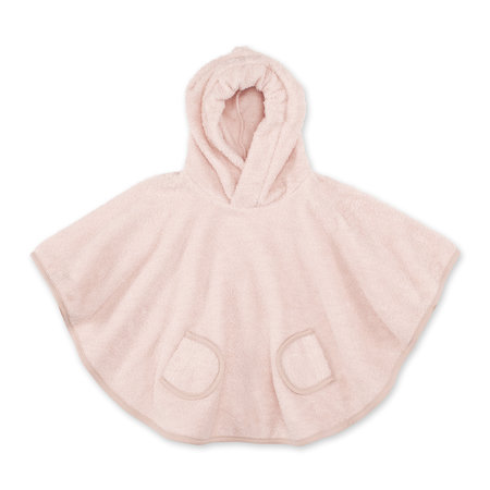 Poncho Terry 6-36m BEMINI Blush