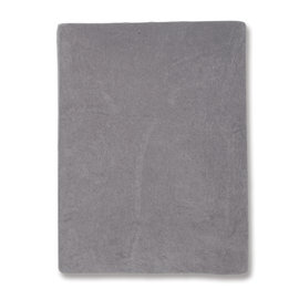 Changing mat cover Terry 60x85cm BEMINI Dark grey