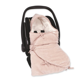 Mini Nest® Pady softy + jersey 0-4m BEMINI Vieux rose